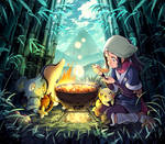 Pokemon Legends Arceus Female Character