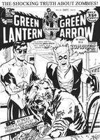 Green Lantern Green Arrow 85 by MarkG72