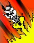 Scruffy space blaster