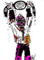 Lucha Zombie Champion by MarkG72