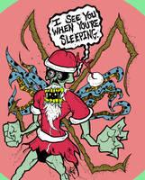 Gutwrench Santa Horror by MarkG72