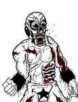 Luchadore Zombie Challenger