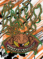 Tentacle Psycho One Eyed Freak by MarkG72