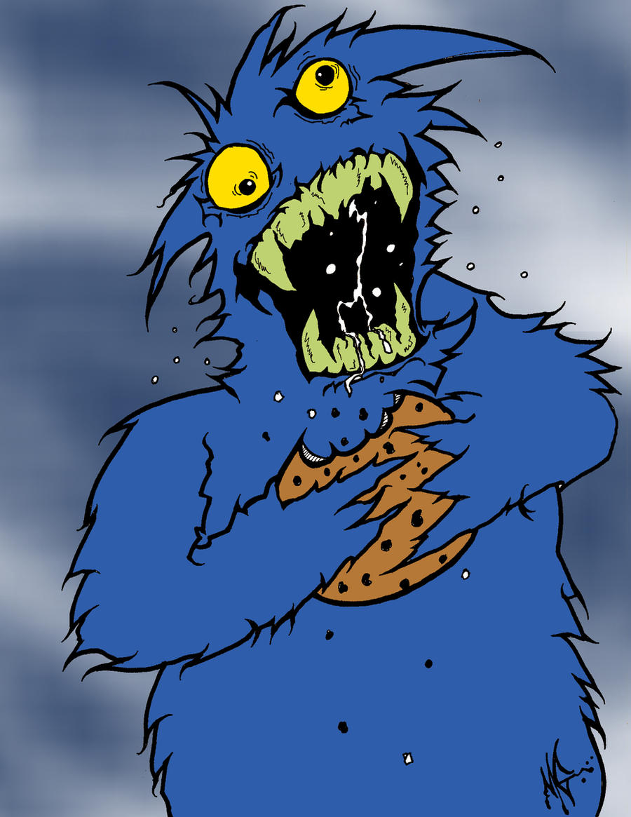 The Savage Cookie Monster