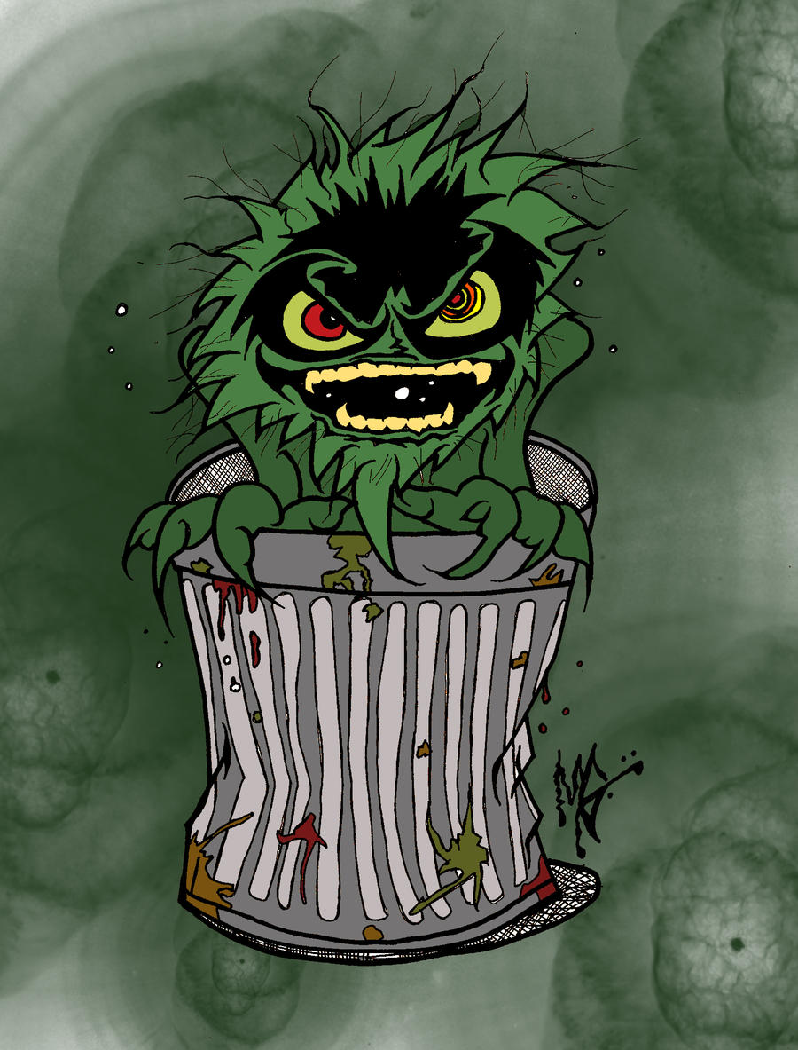 Oscar The Grouch By MarkG72