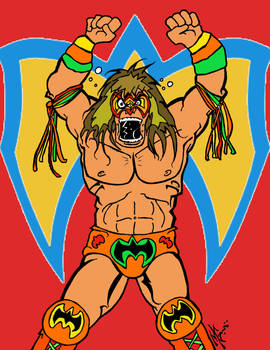 The Ultimate Warrior RIP 1959 - 2014