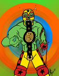 Lucha Zombie Champion of the Universe