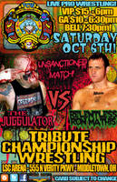 TCW Tribute Championship Wrestling Jugg vs Mathis by MarkG72