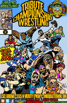 Tribute Championship Wrestling Secret Wars variant