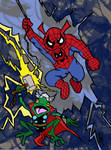 Marvel Tails: Frog Thor and Spider-Ham