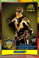TCW ROSTER - GOLDUST VARIANT TWO by MarkG72