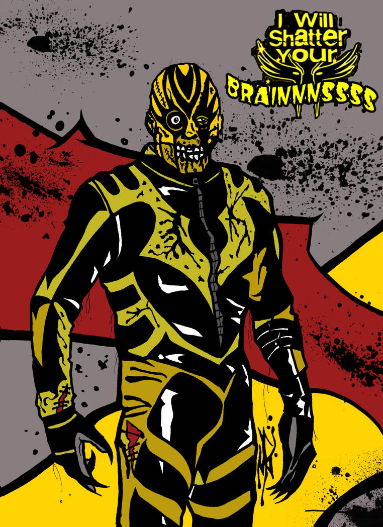 THE WRESTLING DEAD - GOLDUST by MarkG72