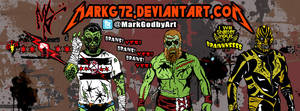 The Wrestling Dead Cover Photo by MarkG72