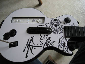 Wii Custom Guitar Hero Controller by MarkG72