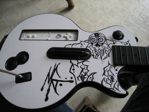 Wii Custom Guitar Hero Controller