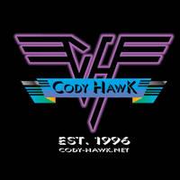 Cody Hawk 'Van Halen' t-shirt design by MarkG72