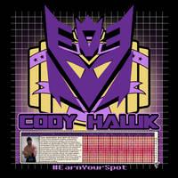Cody Hawk 'Decepticon' t-shirt design by MarkG72