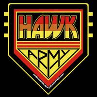 Cody Hawk 'Hawk Army' t-shirt design by MarkG72