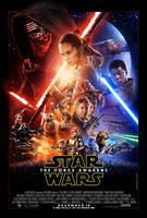 Stardust in SW The Force Awakens Poster by MarkG72