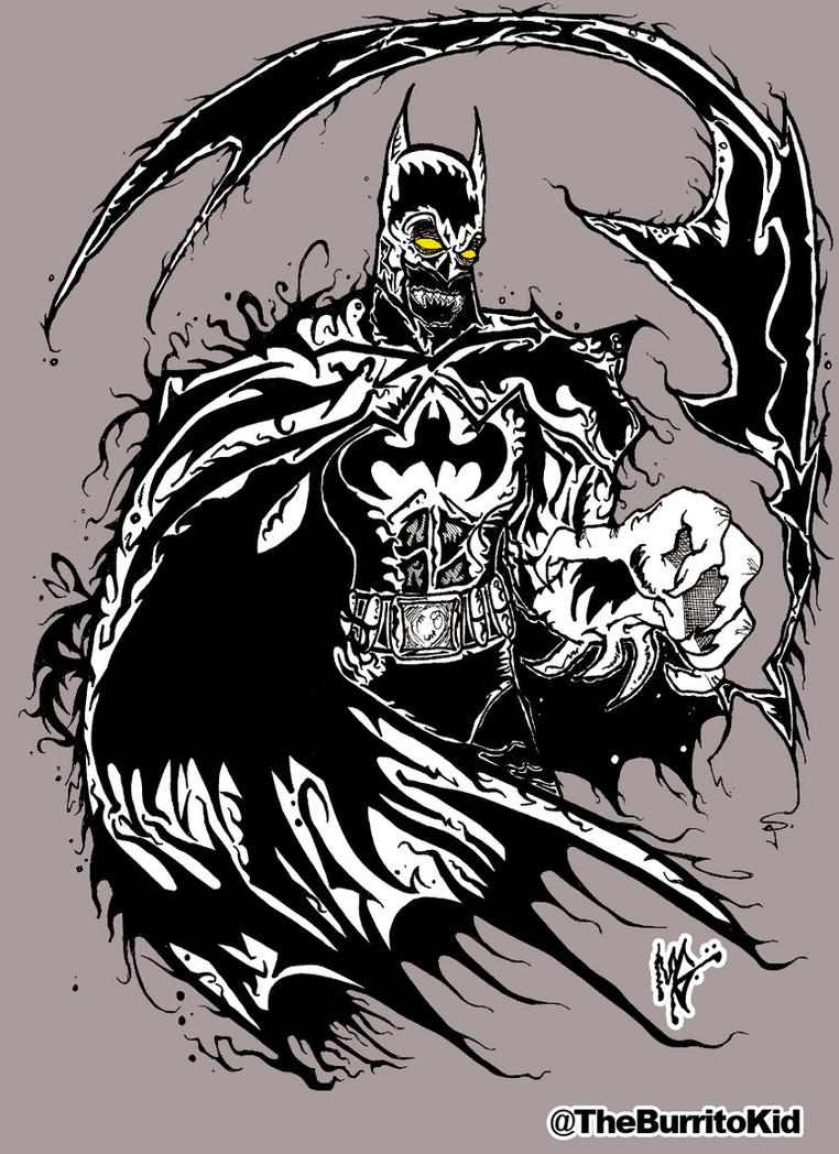 Sheer Terror Batman 2016 by MarkG72