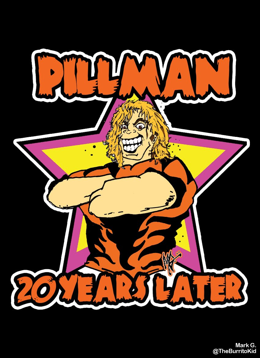 Pillman 20 Years Later by MarkG72