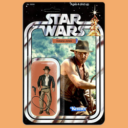 Kenner Star Wars Indiana Jones action figure by MarkG72