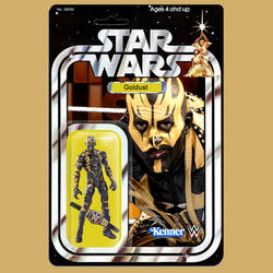 Kenner Star Wars WWE Goldust action figure by MarkG72