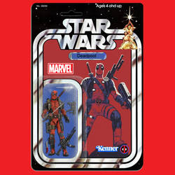 Kenner Star Wars Deadpool action figure by MarkG72