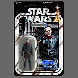 Kenner Star Wars Walking Dead Negan action figure