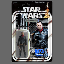 Kenner Star Wars Walking Dead Negan action figure by MarkG72