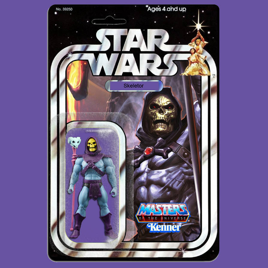 Kenner Star Wars Skeletor action figure by MarkG72