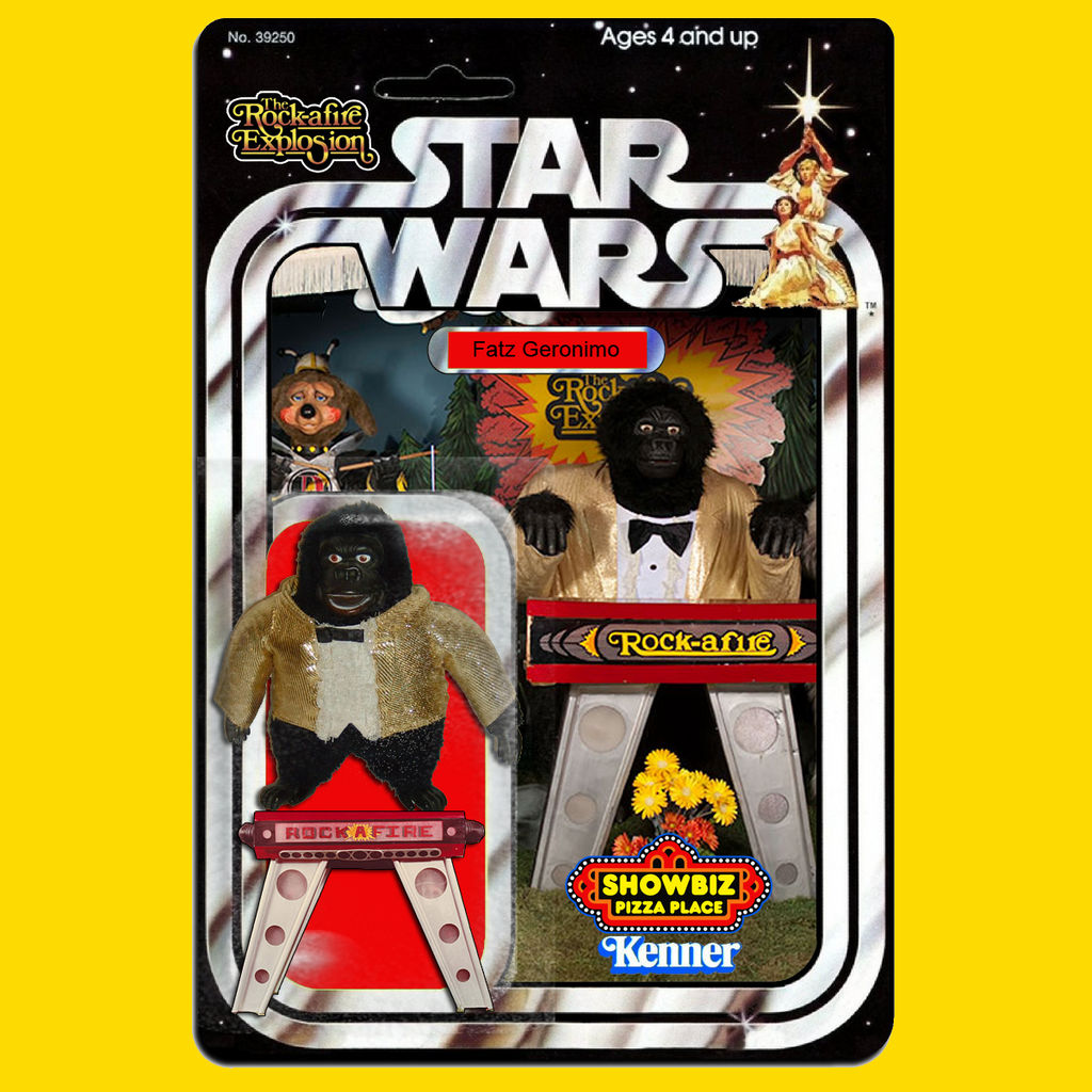 Kenner Star Wars Fatz Geronimo action figure by MarkG72