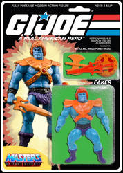 GI Joe Masters of the Universe Faker action figure by MarkG72