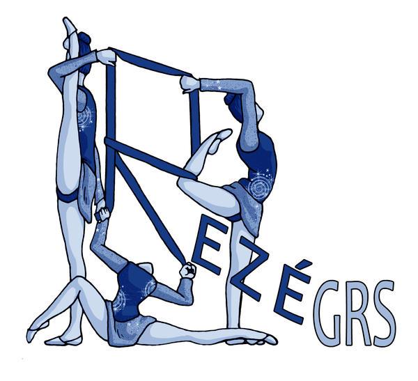 Logo gymnastique rythmique by illustratrice-lalex
