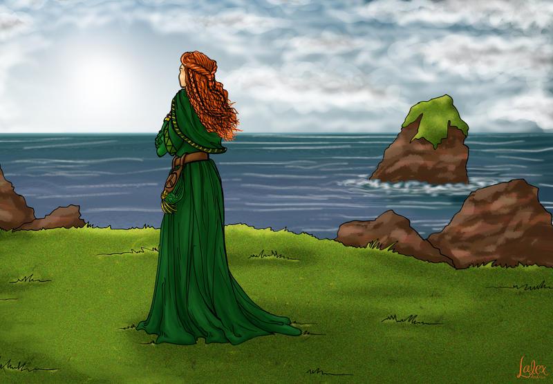 Femme celtique / Celtic Woman