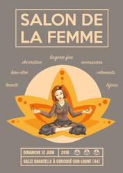 Salon de la femme 2016 by illustratrice-lalex