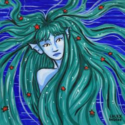 Sand's Mermaid by me
