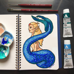 No smiling Mermaid