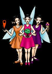 Fairy trio