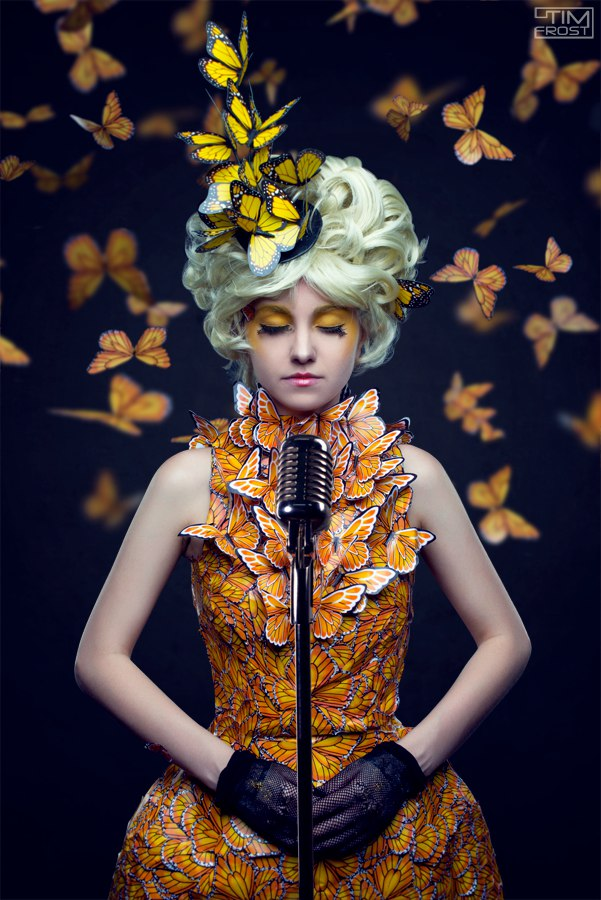 Effie Trinket - The Hunger Games by Cheza-Flower
