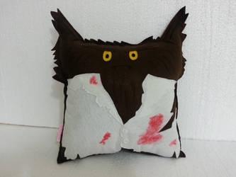 Classic Horror Movie Monster The Werewolf Pillow by RbitencourtUSA