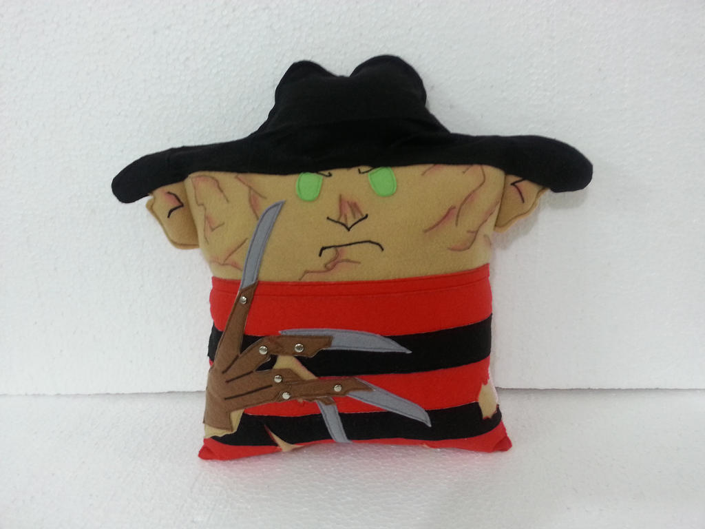 A Nightmare on Elm Street Freddy Krueger Pillow by RbitencourtUSA