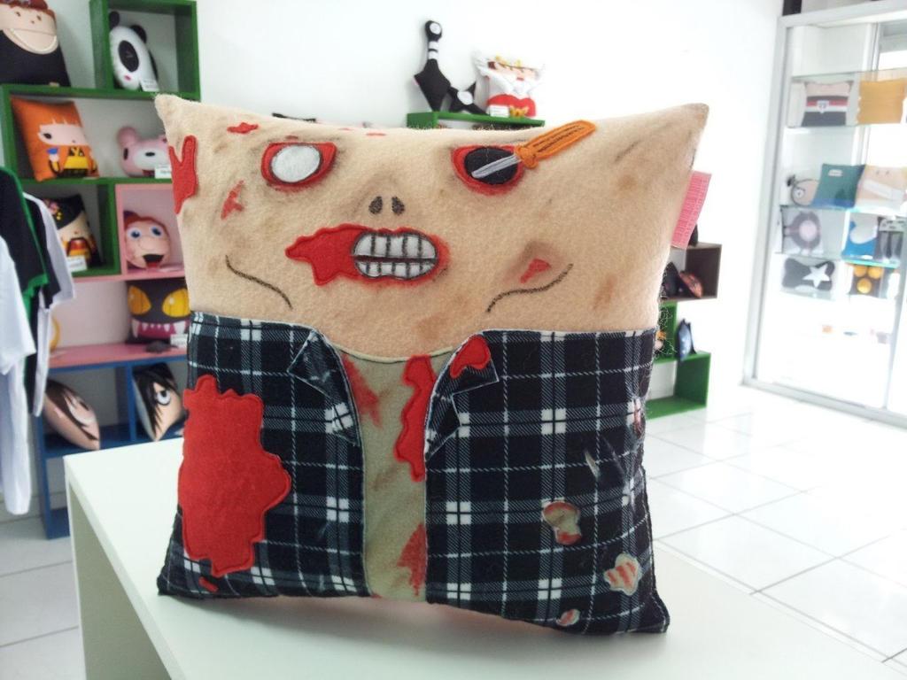 Handmade TV Series The Walking Dead Zombie Pillow by RbitencourtUSA