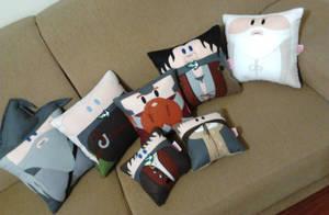 Handmade Lord of the Rings LOTR Plush Pillow Set 2 by RbitencourtUSA
