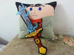 Handmade Percy Jackson with Riptide Sword Pillow by RbitencourtUSA