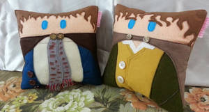 Handmade Lord of the Rings Merry and Pippin Pillow