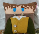 Handmade Lord of the Rings LOTR Merry Plush Pillow