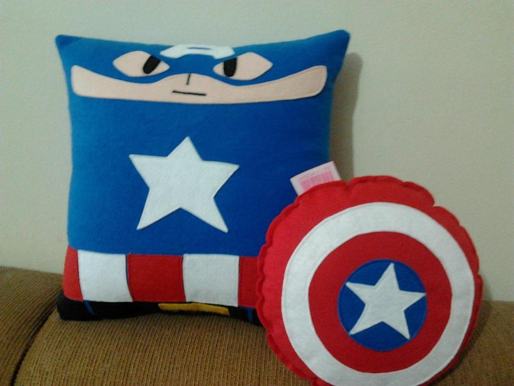Handmade Classic Captain America with Shield by RbitencourtUSA