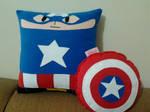 Handmade Classic Captain America with Shield
