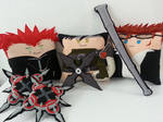Handmade FFVII Crisis Core and Kingdom Hearts Set by RbitencourtUSA